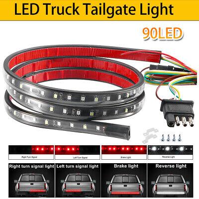 """40"""" Truck LED Tailgate Light Strip Bar Brake Light for Chevy Honda Ram Pickup US"""