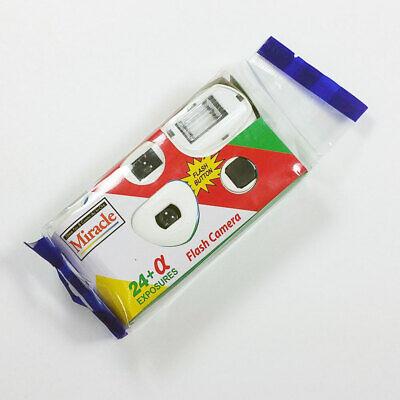 24 Photos Power Flash HD Single Use One Time Disposable Film Camera korea