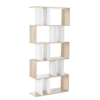 Modern 5 Level Tier Bookcase Shelf Stand