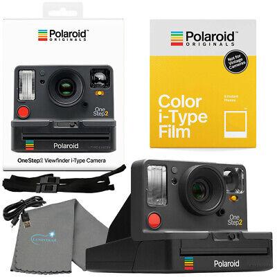 Polaroid OneStep 2 Viewfinder i-Type Camera Graphite + Film
