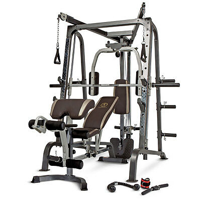 Marcy Smith Cage System MD-9010G Weight Training Circuit Home Gym Combo Machine