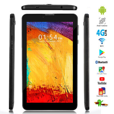 Unlocked 4G LTE Phablet 2-in-1 Tablet PC Smartphone Android 9.0 AT&T / T-Mobile