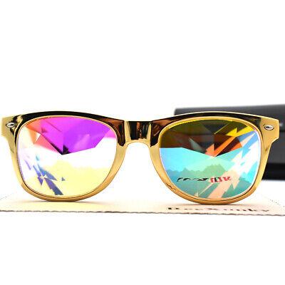 Kaleidoscope Rainbow Square Glasses Prism Diffraction Crystal Lens Festival (Kaleidoscope Prism Glasses)