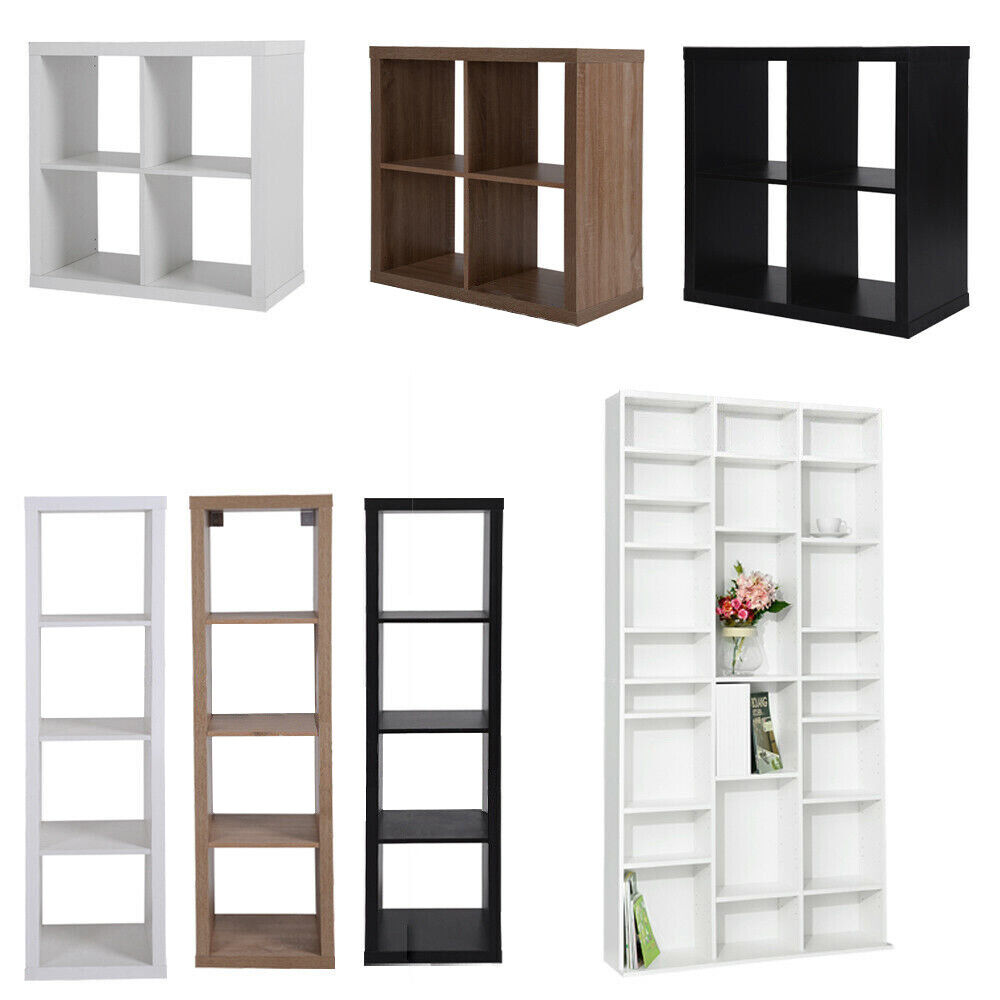 Cd Dvd Storage Shelving Bookcase Unit