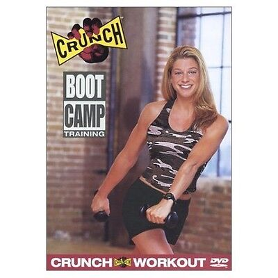 Crunch  Boot Camp Training  Dvd  Bootcamp Workout Calorie Burner Tone New
