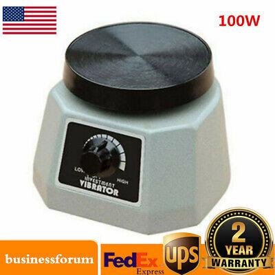 Dental Lab Vibrator Shaker Oscillator Machine Dentist 4 Round Equipment Usa