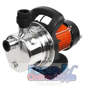 800W Stainless Steel Garden Water Pump 54L/Min Melbourne CBD Melbourne City Preview