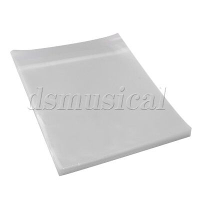 100Pieces 12Inches Plastic Thicker Version LP Vinyl Records Outer Sleeve