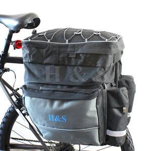 Top-Quality-Mountain-Cycle-Bike-Bicycle-Pannier-Saddle-Rear-Rack-Travel-Bag-L