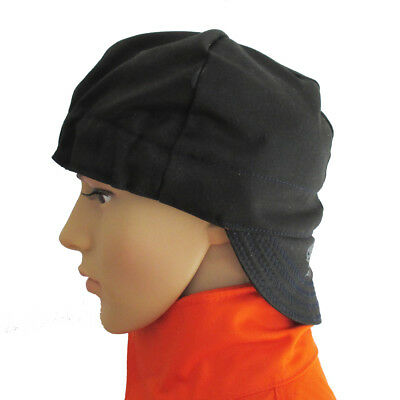 Ap-6632 Washable Black Flame Retardant Cotton Cap Hat Fit For Welding Helmet
