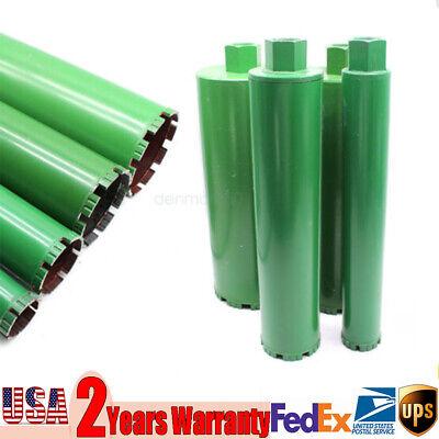 4 X Wet Diamond Core Drill Bit 2 3 4 5 For Concrete - Premium Green Series