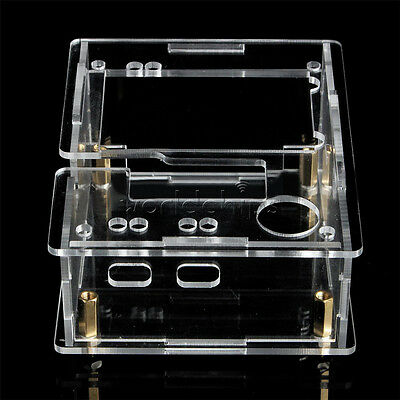 Acrylic Case Shell For Tft Gm328 Transistor Tester Diode Lcr Esr Pwm Generator