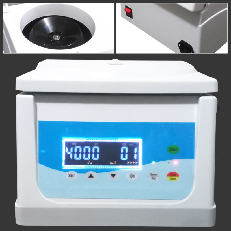 8x5ml Electric Benchtop Centrifuge Lab Medical Practice 16000rpm Laboratory USA