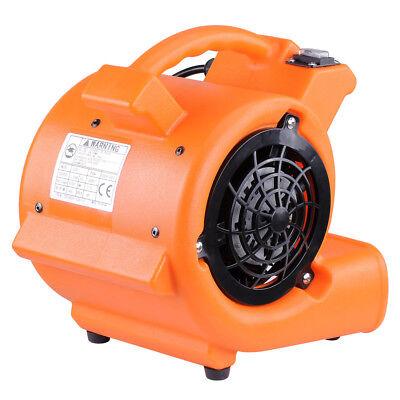 Air Mover Floor Dryer (Commercial Air Mover Blower Carpet Dryer 349CFM Floor Drying Industrial Fan)