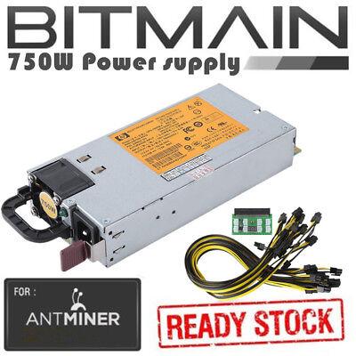 750w PSU Power Supply Mining Miner For Antminer S3 S1 S5 miner BTC Coin Best (Best 750w Power Supply)