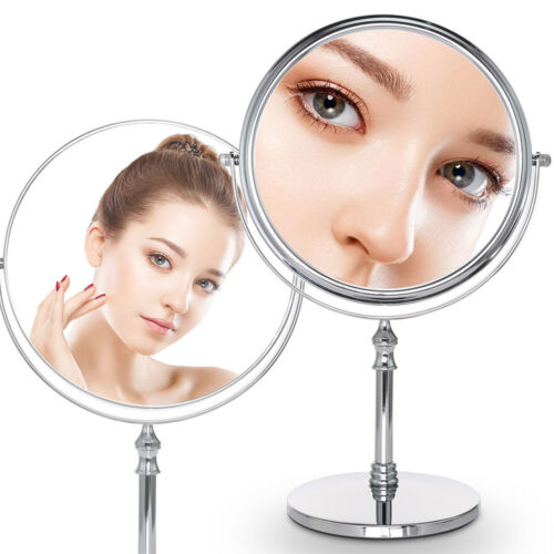 8-Inch Double-Sided Makeup Mirror 10x Magnifying Vanity Beauty Make Up Mirror Health & Beauty