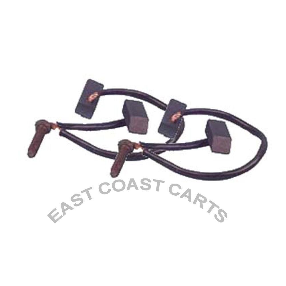 Electric Motor Brush Repair Kit: EZGO, Club Car, Yamaha Golf Cart GE 36v & 48v Electric DC