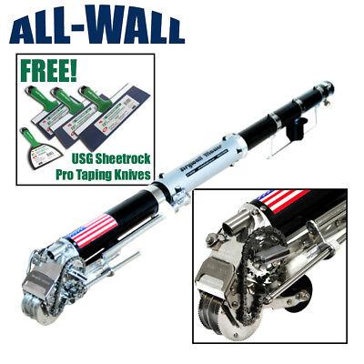 Drywall Master King Pro Automatic Taper Taping Tool Free Usg Taping Knife Set