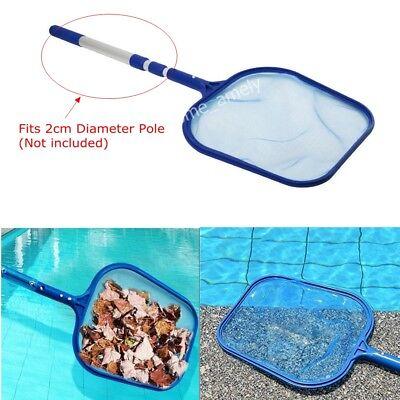 Professional Leaf Rake Mesh Frame Net Skimmer Cleaner Swimming Pool Spa Tool