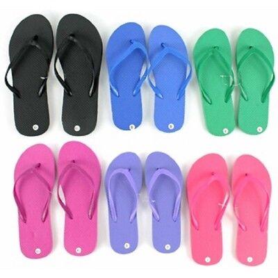 Bulk Flip Flops (Wholesale Women's Flip Flops - Bright Assorted Colors, Lot of)