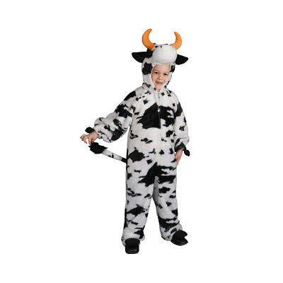 Plush Cow Fancy Dress Costume for Kids By Dress up America (Cow Costume For Kids)
