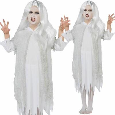 Gespenstischer Geist Kostüm Mädchen Halloween Braut Outfit + - Halloween Outfit Mädchen