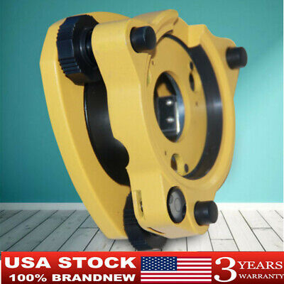 Yellow Gps Carrier Fixed Adapter With 58 Rotate Tribrach With Optical Plummet