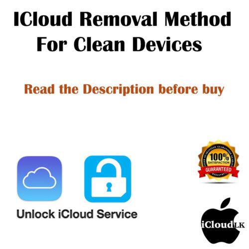 iCloud/FMI/Removal iPhone iPad iWatch 100% GUARANTEED - Don