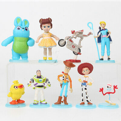 Toy Story Woody Jessie Buzz Lightyear 9 PCS Action Figure Cake Topper Gift Toys - Woody Toy Story Jessie