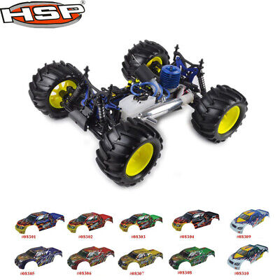 HSP 1:8 Scale Nitro Off Road Monster Truck Remote Control Off-Road Truck