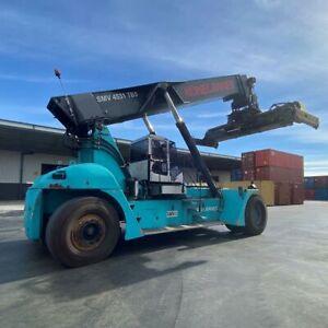 Used 45T Konecranes Reach Stacker SMV 4531 TB5 Altona Hobsons Bay Area Preview