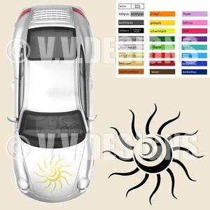 Tribal 'Sonne' Autoaufkleber   Autotattoo Kfz Styling Aufkleber   Art:066 XL