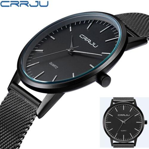 $10.88 - CURREN Mens Luxury Watch Ultra Thin Casual Analog Quartz Steel Strap Wristwatch