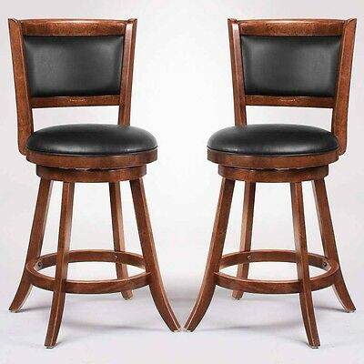 Swivel Wood Dining Chairs 24
