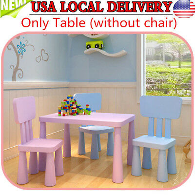 Kids Table and Chairs Play Set Toddler Child Toy Activity Furniture - Children's Activity Table