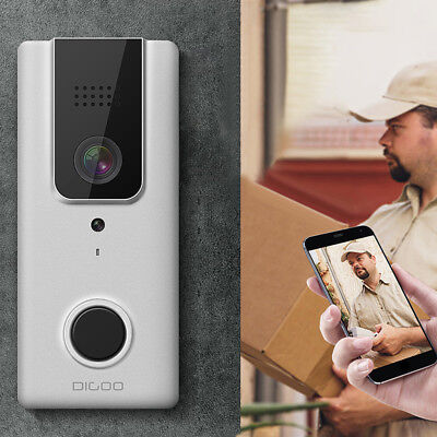 Upgrade Digoo WiFi Wireless Bluetooth Well-groomed Video DoorBell Camera Phone Intercom