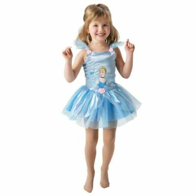 Disney Princess Cinderella Ballerina Dress Costume Age 2-3 Years TD181 AA (Disney Cinderella Ballerina Kostüm)