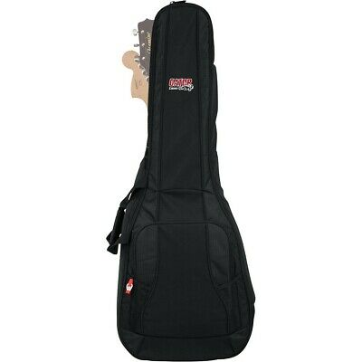 Gator 4G Series Acoustic/Electric Guitar Double Gig Bag Black