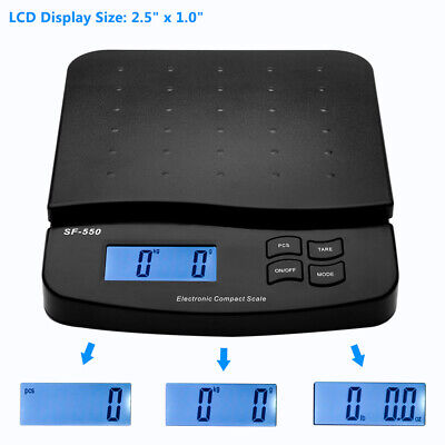 30kg1g High Precision Lcd Digital Postal Shipping Scale Kitchen Scale Black Dr