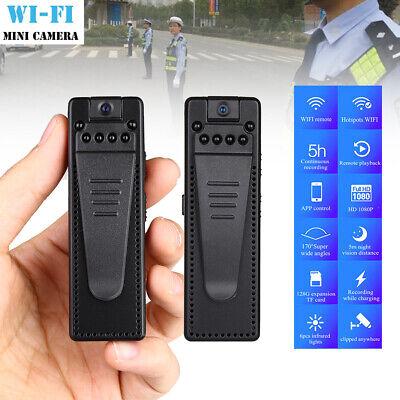2ps HD 1080P WIFI Mini Audio Voice Pen Recorder IP Camera Police Body Worn -