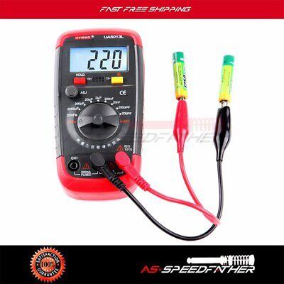 Auto Car Range Digital Capacitor Capacitance Tester Meter Multimeter Ua6013l