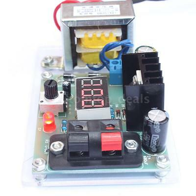 Adjustable Regulated Power Supply Diy Kit W Transformer Lm317 1.25-12v 110v Us