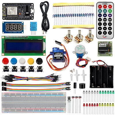 Learning Starter Kit Esp8266 Nodemcu Mqtt Iot Support Wifi And Arduino Ide