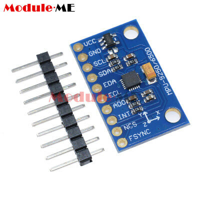 Mpu 9250 Spiiic 9-axis Attitude Module Gyro Accelerator Magnetometer 2.54mm