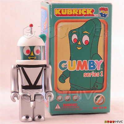 Kubrick - Gumby in Space Suit - secret chase 1/96 figure with box by Medicom - Gumby Suit