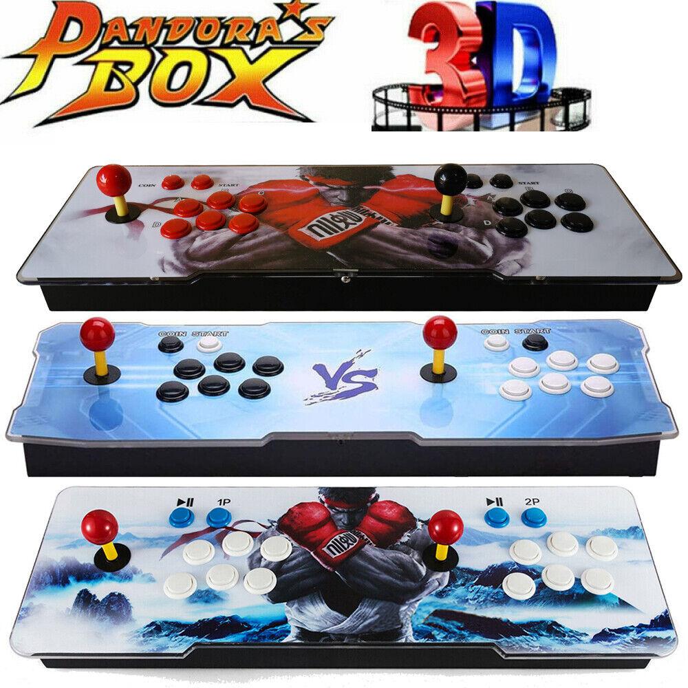 Pandora Box 11s 2706 in 1 Retro Video Games Double Stick Arcade Console w/ Light