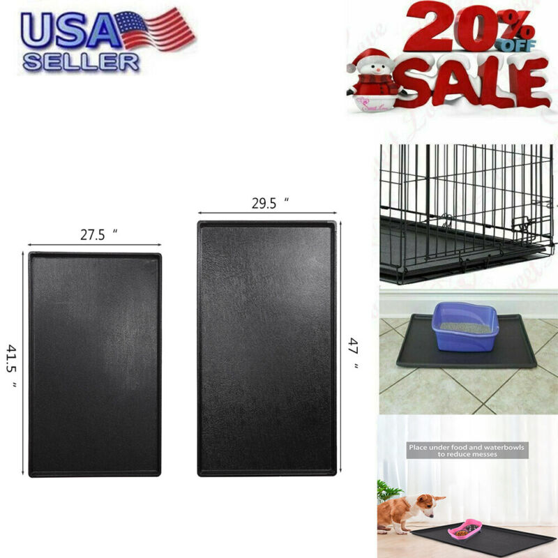 """Dog Crate Tray 42"""" Replacement Pan Pet Kennel Cage Bed Scree"""