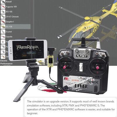STARTRC 8-in-1 RC Flight Wireless Simulator for Flysky i6x FUTABA Radiolink J0E6
