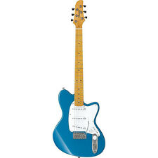 Ibanez TM330M Talman Electric Guitar Maple Fingerboard Bright Metallic Blue