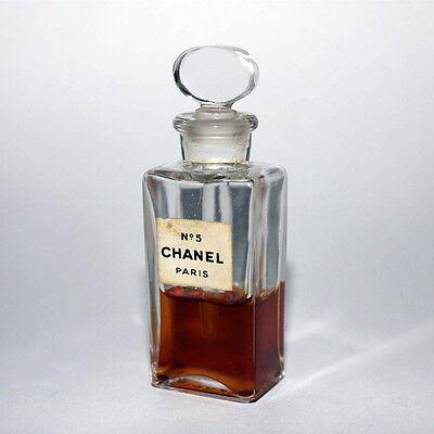 Chanel NO.5 aus Glas # Rar / Vintage / Alt # Parfumminiatur Flakon Miniatur